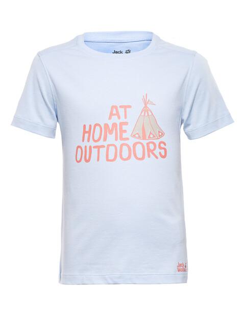 Jack Wolfskin Tipi - T-shirt manches courtes Enfant - bleu